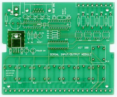 K108 Serial I/o Module