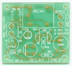 kitsrus com websitewe provide 3 complete text book timer circuits all in the one kit one is traditional 555 timer circuit, the second uses a 555 to pulse a counter while the